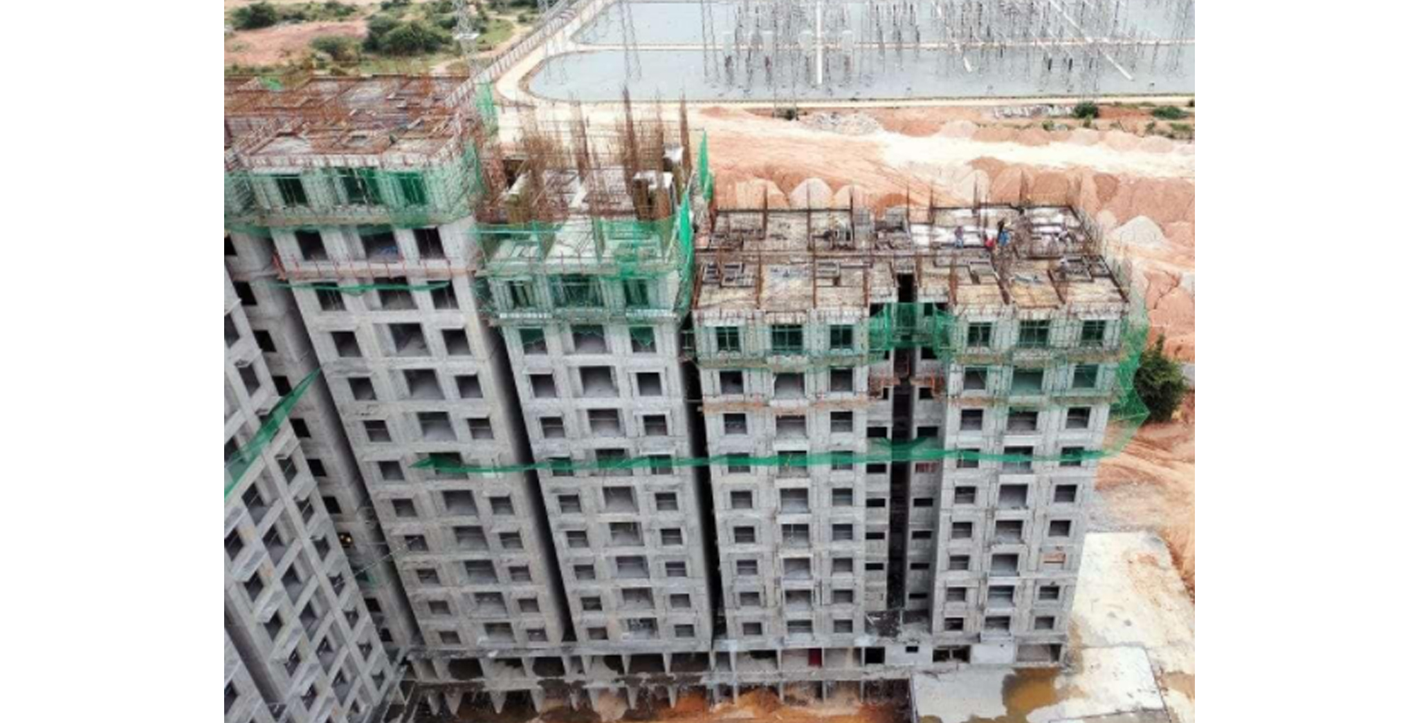 Aug 2021 - Helio Block: Wing C - On Commencement of tenth floor slab