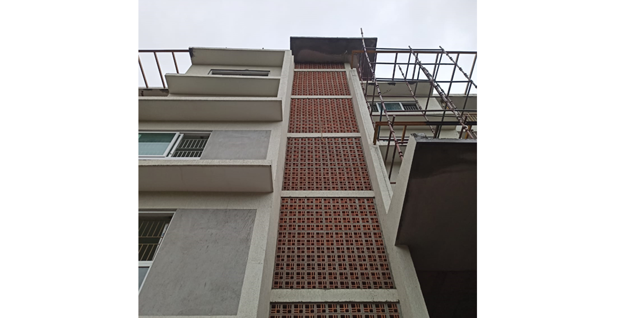 Aug 2021 - B Block: Staircase Jally