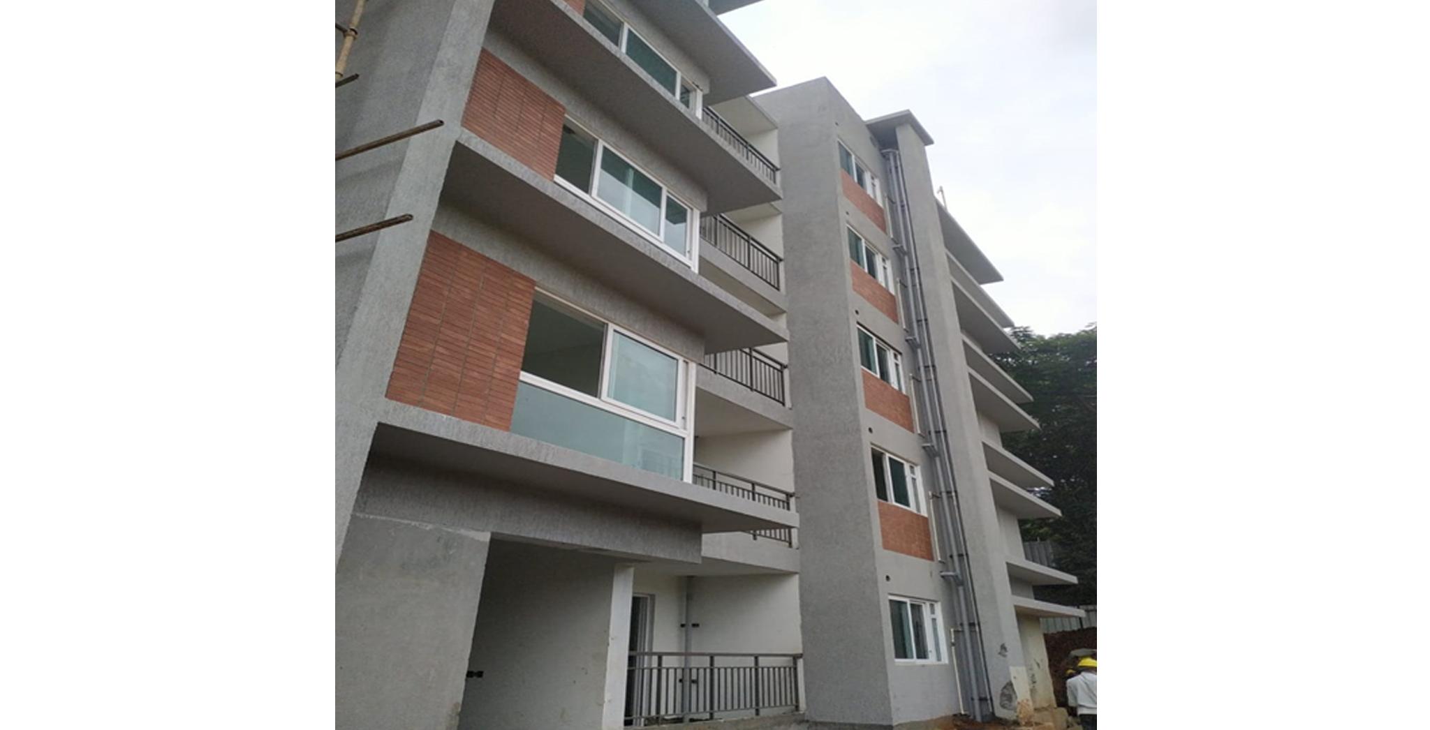 Aug 2021 - H Block: South Elevation