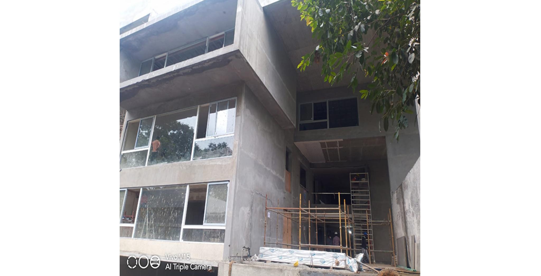 Aug 2021 - Club House: East Elevation Window