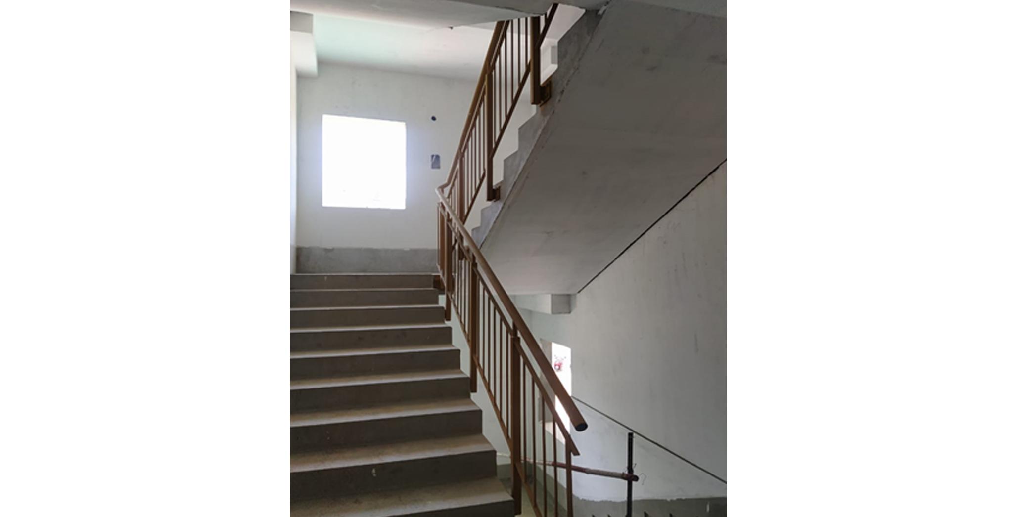Aug 2021 - Staircase railing