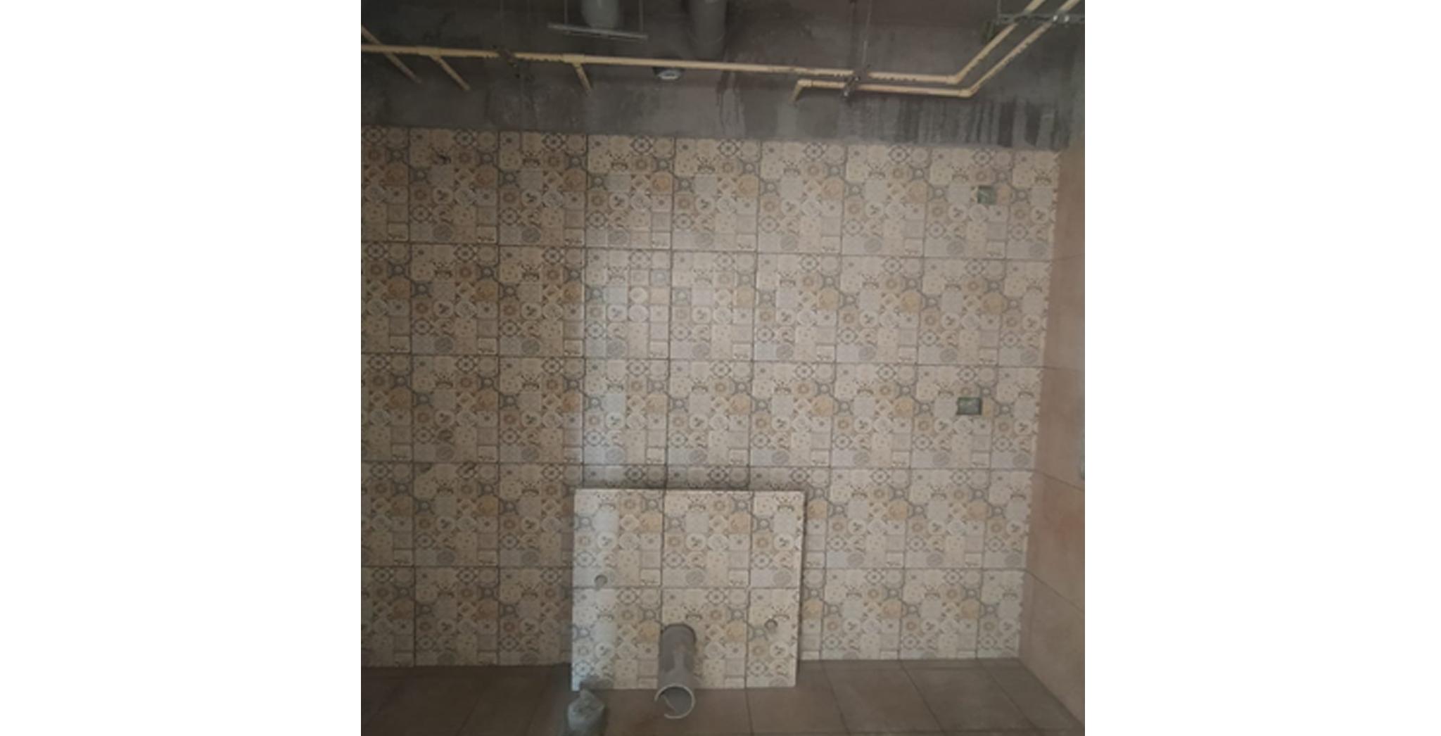 Aug 2021 - Toilet dado works