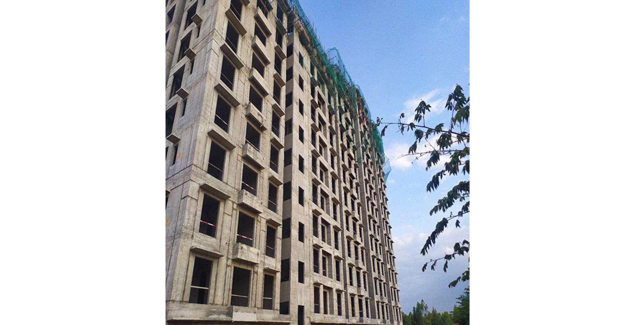 Aug 2021 - Helio Block: Wing C - East Elevation