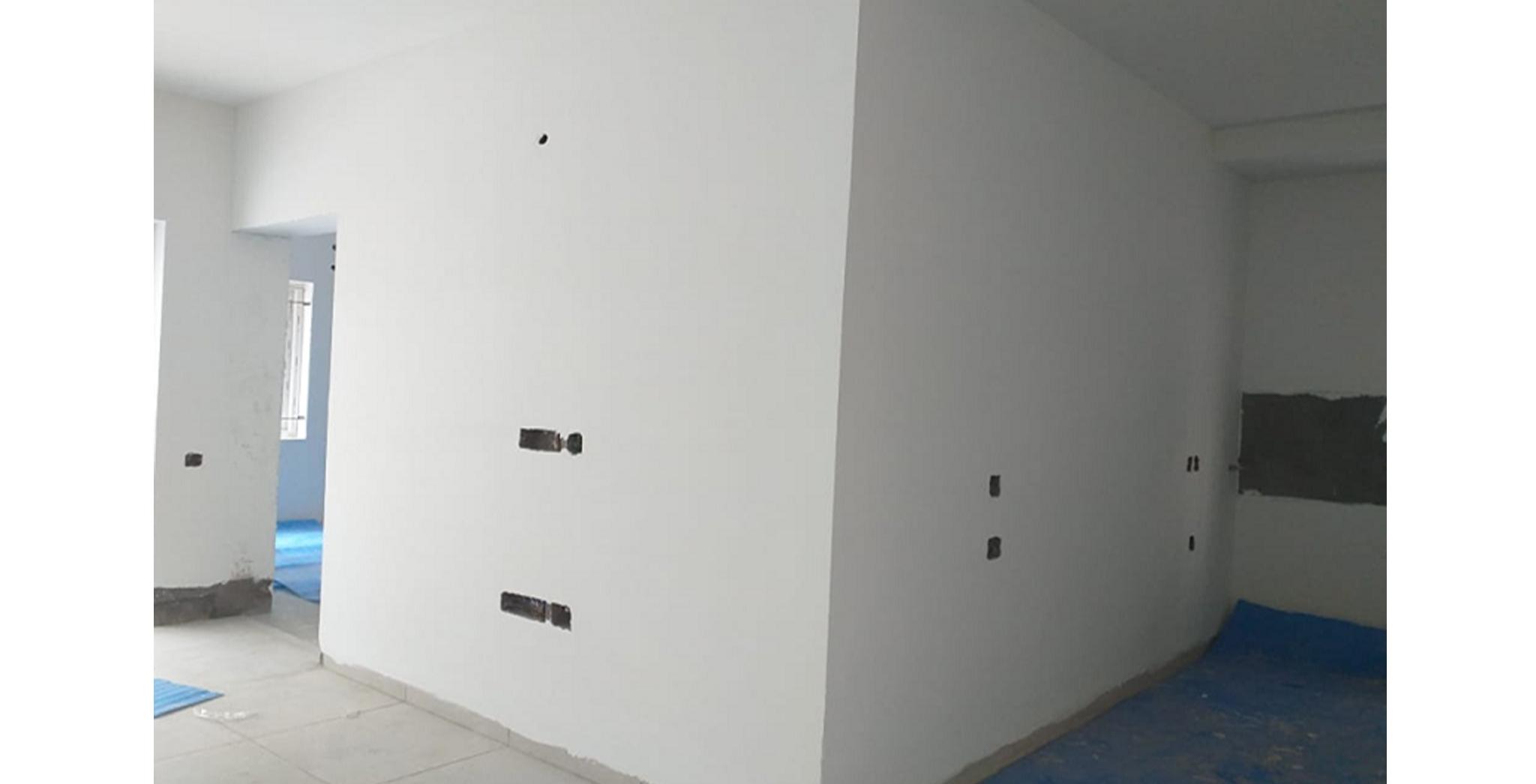 Aug 2021 - Block G, H, J, K, L, M, N, P, A and E: Flat painting works in progress