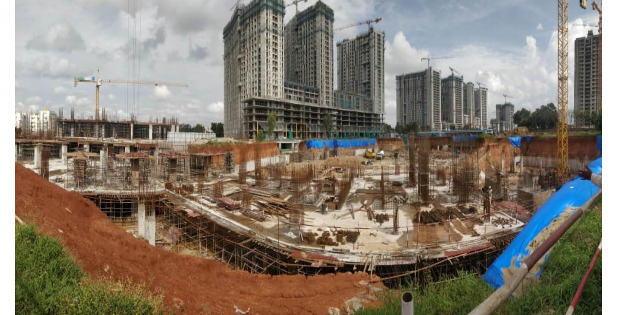Aug 2021 - Paradise Tower L: B1 Slab in Progress