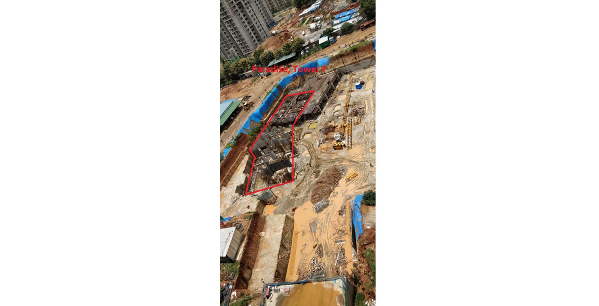 Sep 2021 - Paradise Tower F: Casting of Raft/Footing Milestone