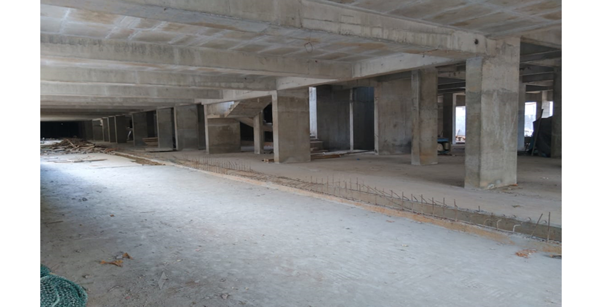 Aug 2021 - Basement civil work completed